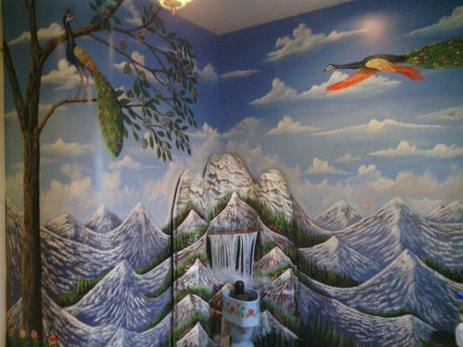 Alter room Mural